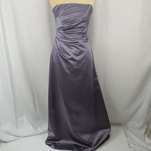 Impression Strapless Prom Bridesmaids Formal Dress